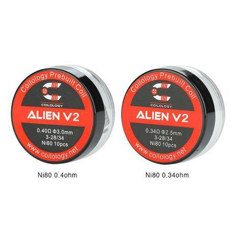 Coilology Alien V2 Coil 10pcs - My Vpro