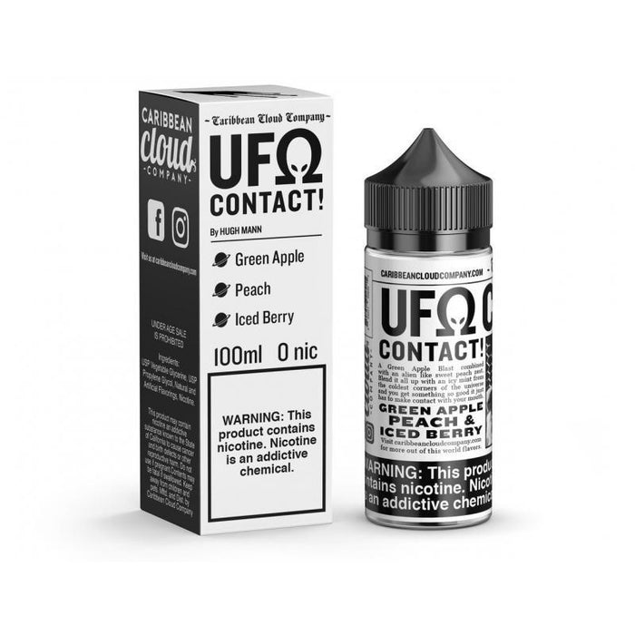 Contact - UFOhm by Caribbean Cloud Company - 100mL E-Liquid Caribbean Cloud Company