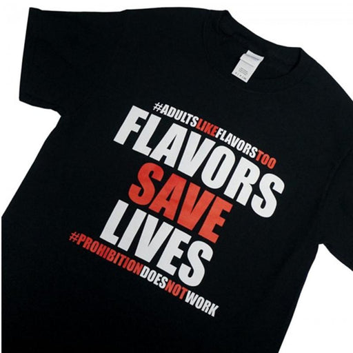 Flavors Save Lives T-Shirt - Vapers United Hardware Vapors United