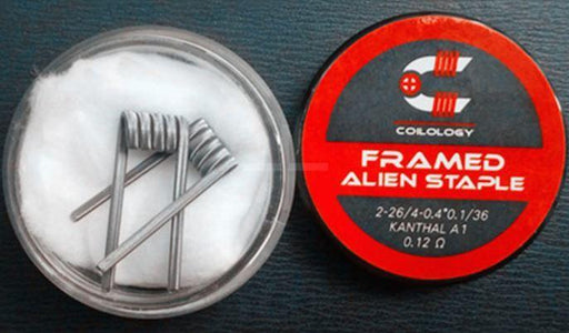 Framed Staple Alien Performance Prebuilt Coils by Coilology Hardware Coilology