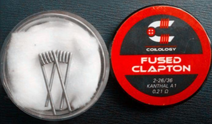Fused Clapton Performance Prebuilt Coils by Coilology - My Vpro