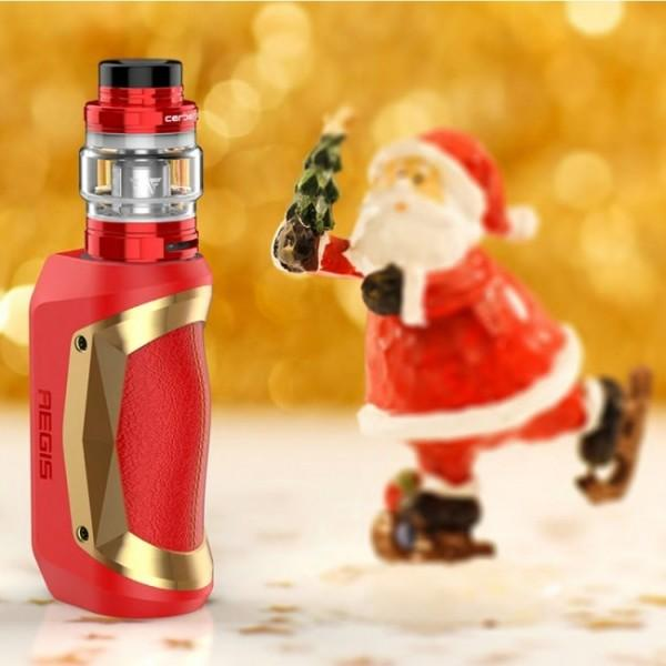 Geekvape Aegis Mini Kit Hardware Geek Vape Xmas Red & Gold