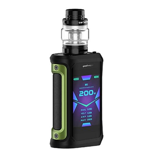 Geekvape Aegis X 200W TC Kit Hardware Geek Vape Green Black