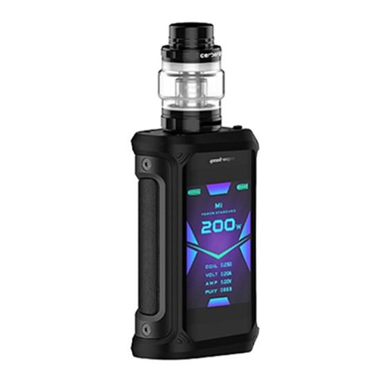 Geekvape Aegis X 200W TC Kit Hardware Geek Vape Stealth Black