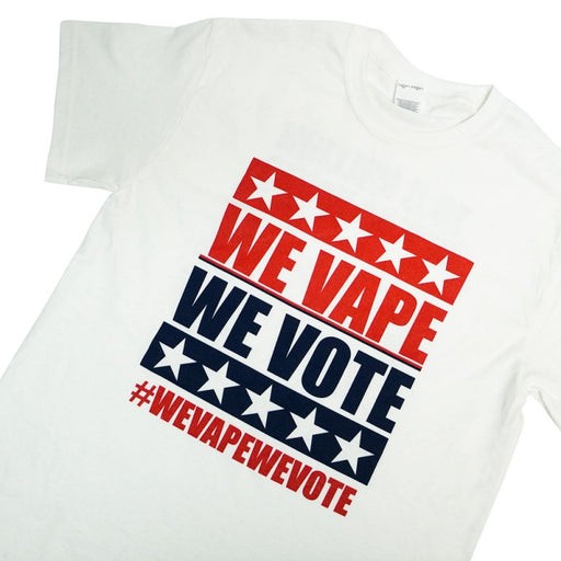We Vape We Vote T-Shirt - Vapers United