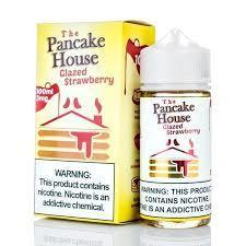 Glazed Strawberry - The Pancake House - 100ml E-Liquid Gost Vapor