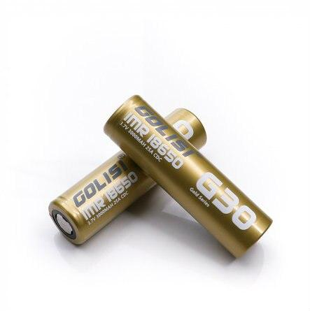 GOLISI IMR 18650 30A 3000mAh Battery with Flat Top Hardware Golisi
