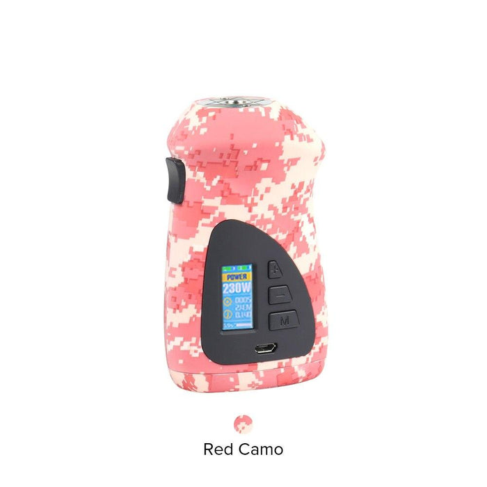 Hugo Vapor - Orbiter 230w TC Box Mod Hardware Hugo Vapor Red Camo