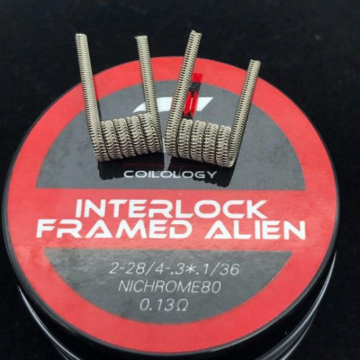Interlock Framed Alien Prebuilt Coils by Coilology Hardware Coilology