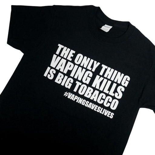 Kills Big Tobacco T-Shirt - Vapers United Hardware Vapors United