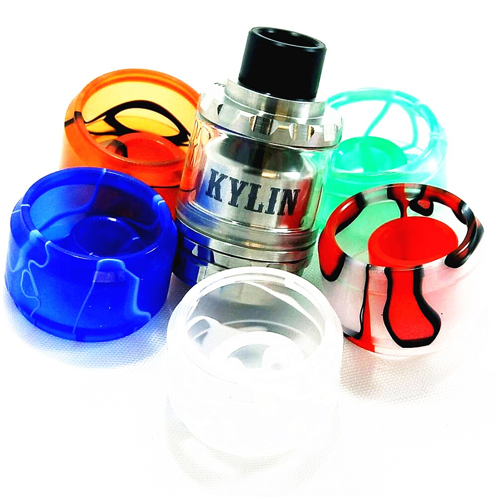 Vandy Vape Kylin RTA Resin Tube and DripTip Kit - 6 ml