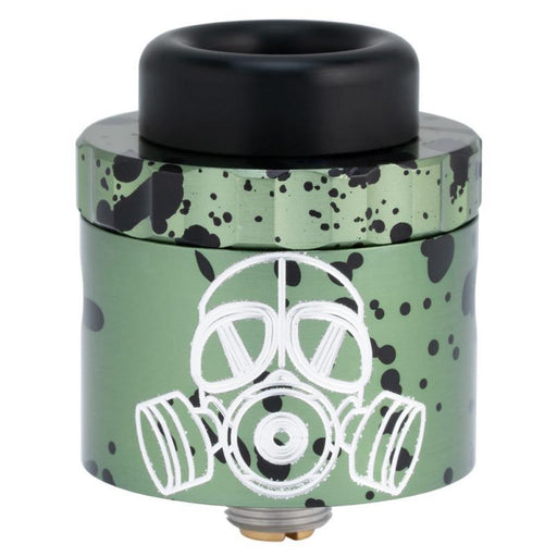 Limited Gear Edition Armageddon MFG Apocalypse 25mm RDA Hardware Armageddon MFG Green Splatter