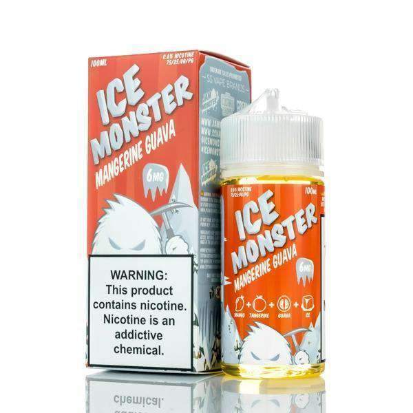 Mangerine Guava - Ice Monster - 100ml E-Liquid Jam Monster