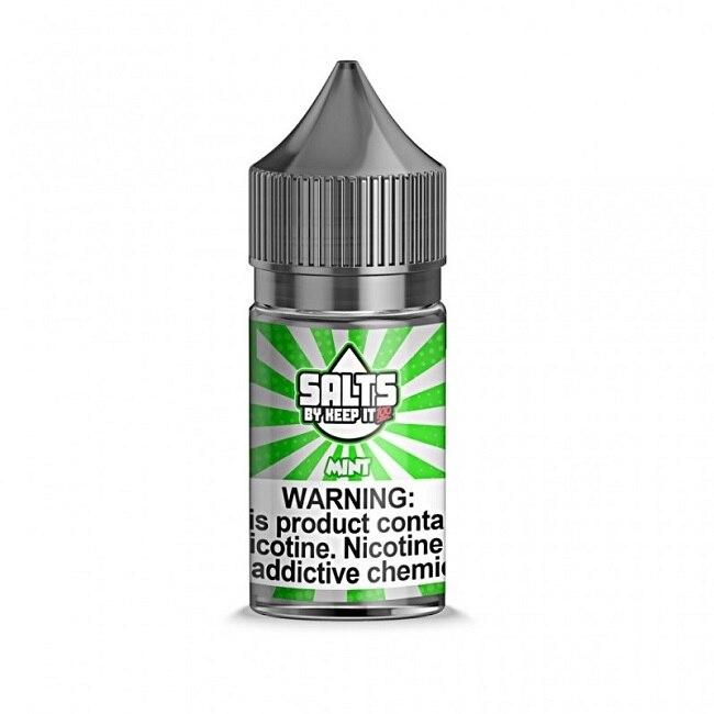 Mint - Keep It 100 Salts - 30ml - My Vpro