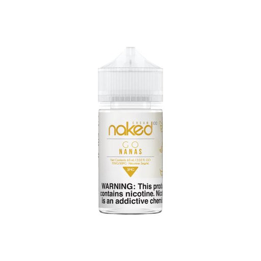 Naked 100 - Go Nanas - 60ml E-Liquid Naked 100 E-Liquid