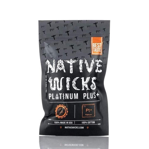 Native Wicks Platinum+ Plus Cotton Hardware Native Wicks