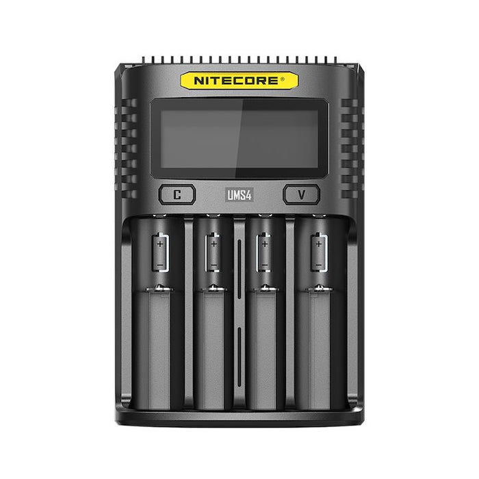 Nitecore UMS4 Intelligent USB 4 Battery Charger Hardware Nitecore