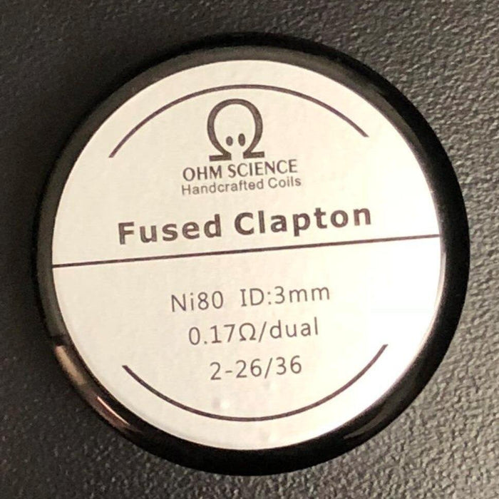 Ohm Science - Fused Clapton Hand Crafted Coils - 2pcs - My Vpro