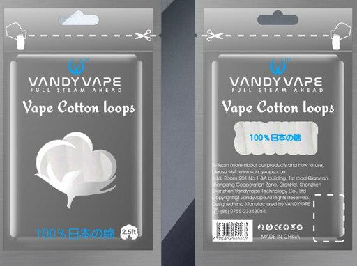 Organic Cotton Loops by Vandyvape Hardware Vandy Vape