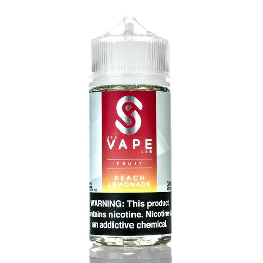 Peach Lemonade - USA Vape Lab - 100ml - My Vpro