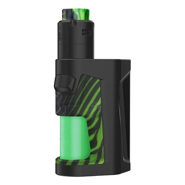 Pulse Dual Kit with Pulse V2 RDA by TonyB & Vandy Vape Hardware Vandy Vape Black / Stripy Green