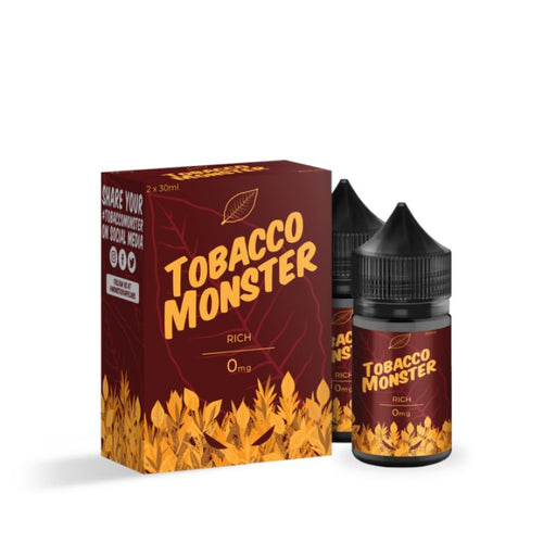 Rich - Tobacco Monster - 60mL (2x 30mL) E-Liquid Jam Monster