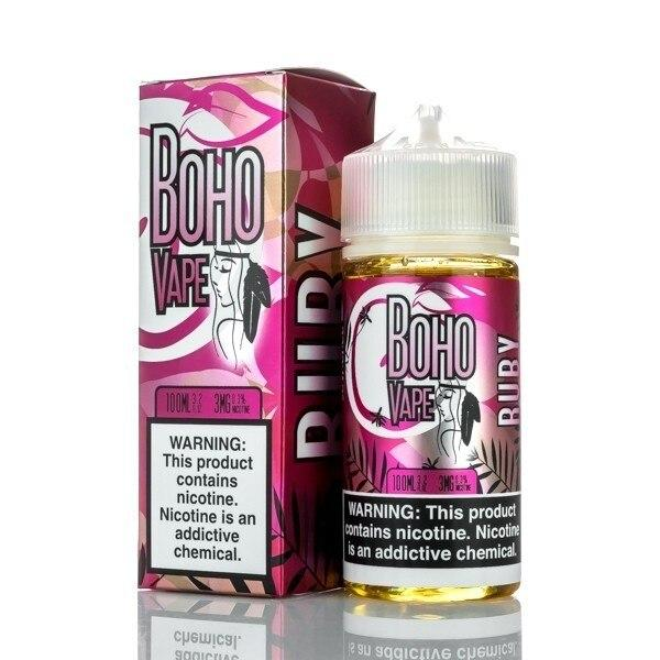 Ruby - Boho Vape - 100ml E-Liquid Boho Vape