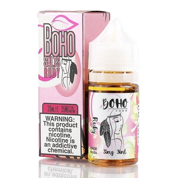 Ruby - Boho Vape Salt - 30ml - My Vpro