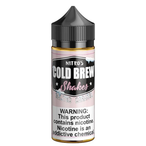 Salted Caramel - Nitro's Cold Brew Shakes - 100ml E-Liquid Nitro's Cold Brew
