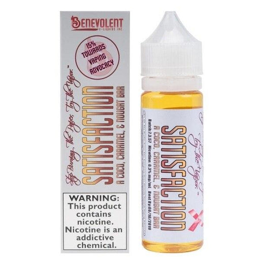 Satisfaction - Benevolent E-Liquid - 50ml E-Liquid Benevolent