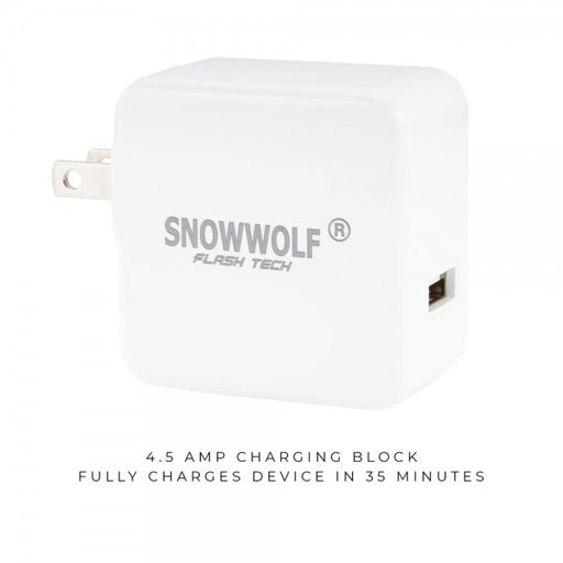 SnowWolf Flash Tech Wall Charger - My Vpro
