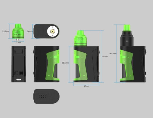 Simple Ex Squonk Kit by Vandy Vape Hardware Vandy Vape