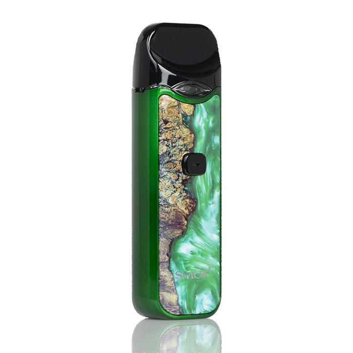 Smok Nord 15w Pod Kit - Stabilized Wood Edition Hardware SMOKTech Green