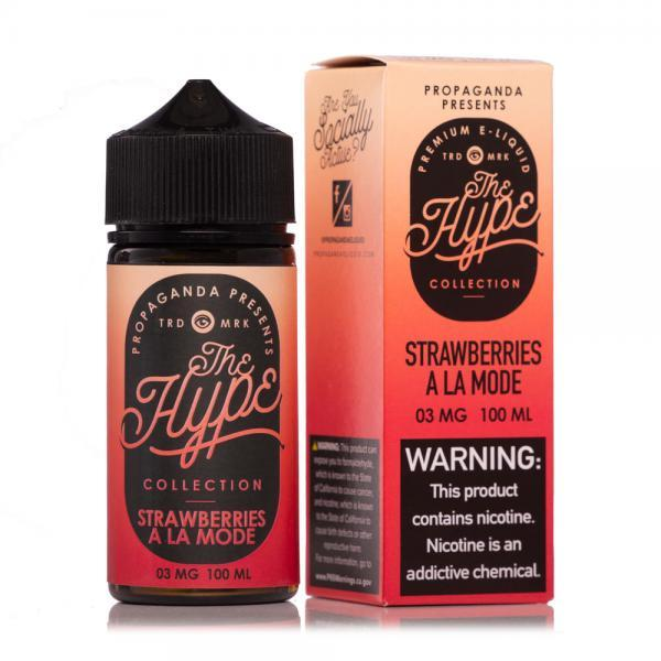 Strawberries Ala Mode (Strawberry Shortcake) - Propaganda - The Hype Collection - 100ml - My Vpro
