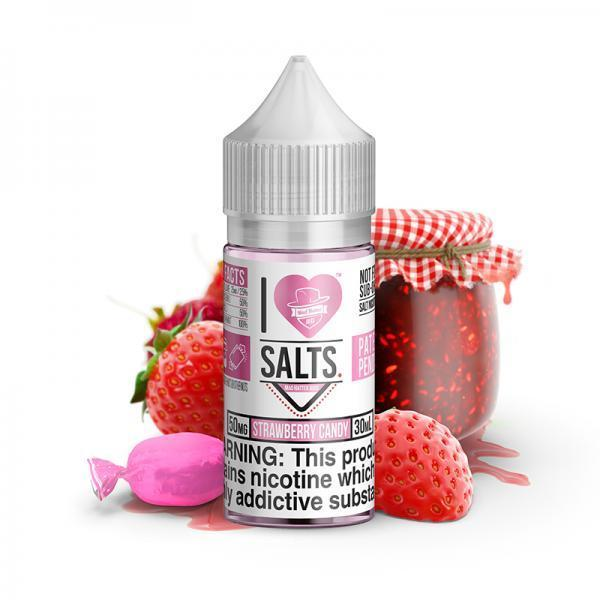 Strawberry Candy - I Love Salts - Mad Hatter Juice - 30mL E-Liquid Mad Hatter Juice