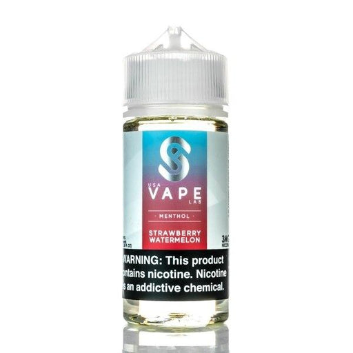 Strawberry Watermelon Menthol - USA Vape Lab - 100ml - My Vpro