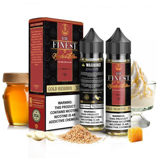 The Finest Signature Edition - Gold Reserve 2x60mL E-Liquid The Finest E-Liquids