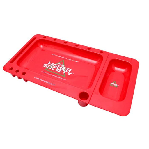 The Higher Society Deluxe Herbal Rolling Tray Hardware The Higher Society