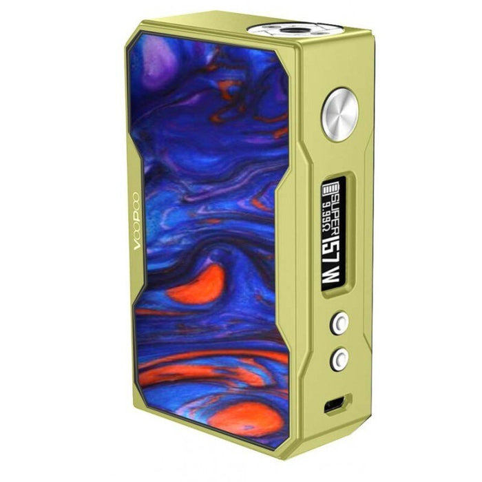 VOOPOO DRAG 157W TC Box Mod Resin Version (Gold Frame)