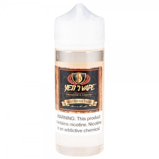Squatchberry Yogurt - Yeti Vape E-Liquids - 120mL - My Vpro