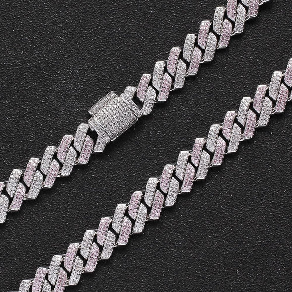 13mm Miami Cuban Link Chain - Various Colours Necklace Ross and Specter