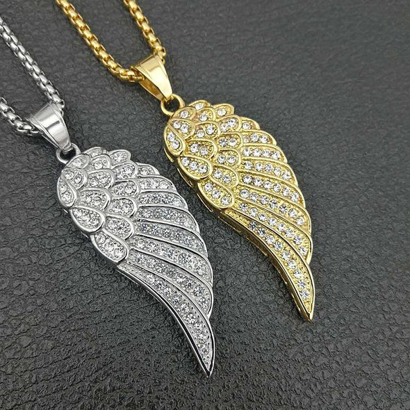 Angel Wing Necklace - Various Colours Necklace Ross and Specter