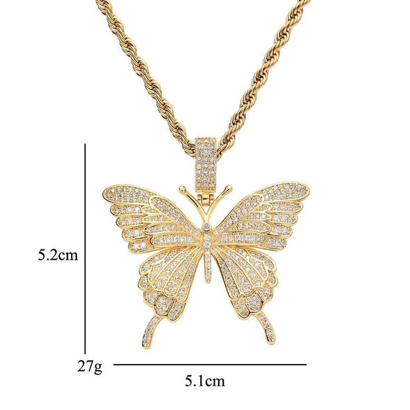 Butterfly Necklace - Various Colours Necklace Ross and Specter