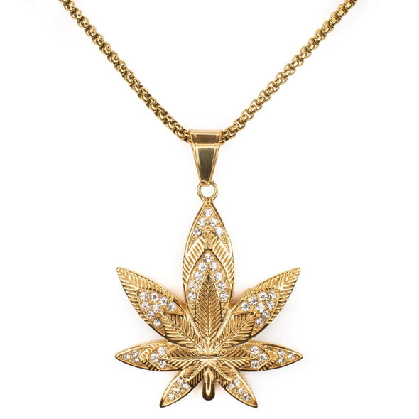 Cannabis Necklace - Various Colours Necklace Ross and Specter
