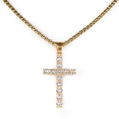 Cross Necklace Necklace Ross and Specter Gold