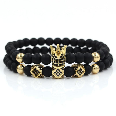 Crown - 4mm Stone Set Stone Ross and Specter Gold