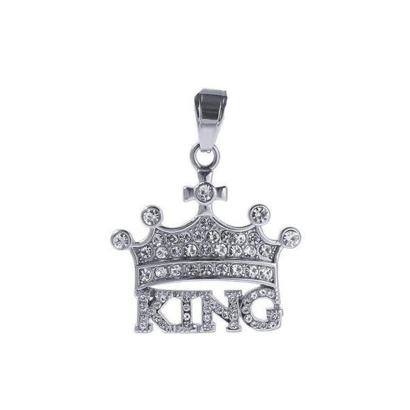 King Necklace - Various Colours Necklace Ross and Specter Silver 40cm