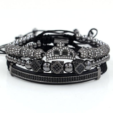 The Empress set (3pc) - Black Bracelets Ross and Specter Black