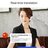 Voice Translator Bluetooth Headset 33 Languages instant Translate Bluetooth5.0 Wireless Earphone Real-time Translation