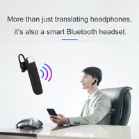 Voice Translator Bluetooth Headset 33 Languages
